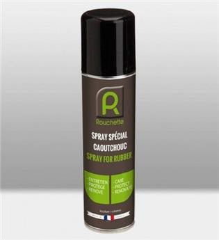 Rouchette spray entretien caoutchouc