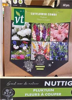 Bulbes utiles Fleurs à couper (VT)