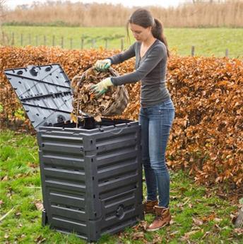 Composteur 300 L 60 60 Ht 90 cm