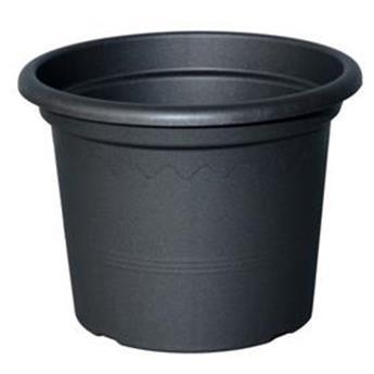 Pot Plastic D 20 cm Anthracite