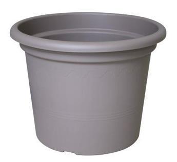 Pot Plastic D 40 cm Gris Tortora