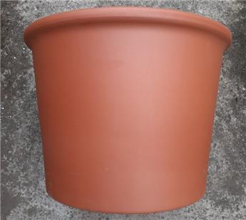 Pot Cillindro lisse D56.7 Ht 45 terre cuite (Mg) 0P550IZ