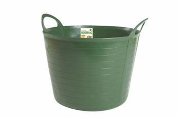 Manne fleixble Diam 39 cm Ht 30 cm 26 litres vert