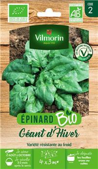 Epinard Géant d´Hiver BIO (Vilm)