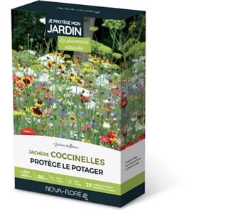 Prairie Fleurie Coccinelles 500g 300 à 600 M² Nova Flore