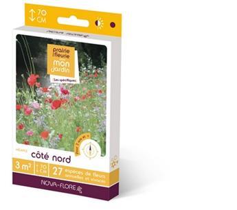 Prairie fleurie Coté Nord 16 g 3M² Nova Flore