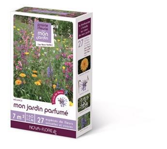 Prairie Fleurie Parfumée 60g 7 M² Fleur De L´Ete Mon Jardin Parfume Nova Flore