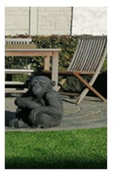Singe assis Ht 60 cm (Monkey)