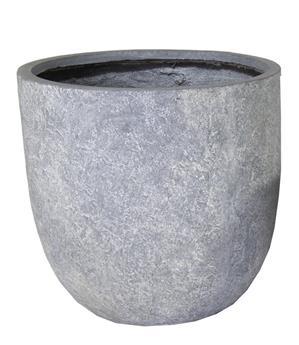 Pot Arizona Egg Pot Graphite D45 H43 cm (Mg)