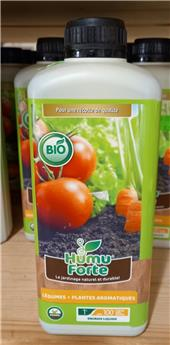 Engrais liquide BIO 1L légumes tomates aromatiques Humuforte