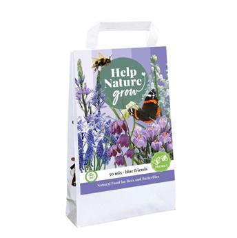 Bulbes mix Help nature Abeilles et papillons Bleu * 50 pc