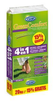 Viano Engrais gazon 4-1 GreenComfort 10 kg