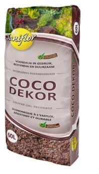 Ecorces coco Dekor 60 l Sani