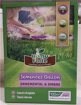 Humuforte semences gazon pro Ombre 2 Kg