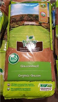 HumuForte Engrais gazon 20 kg BIO