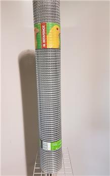 Casanet galv 12.5x 12.5 mm  Ht 100 cm  L 25m