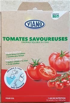 Viano Engrais soluble BIO tomates 52 sachets