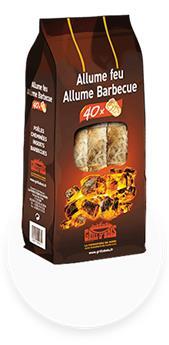 Allume feu et bbq (40p)