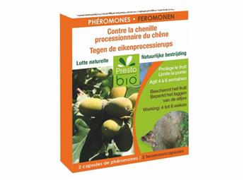 Pheromones contre chenilles processionnaires du chênes * 2 capsules